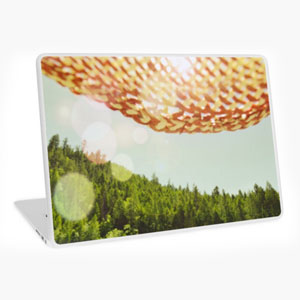 Skyward Laptop skin